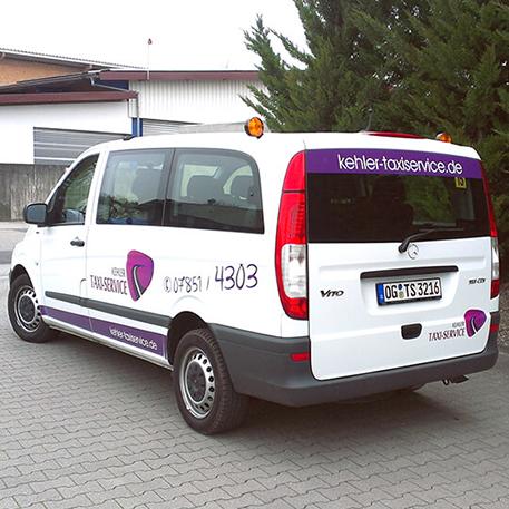 Kehler Taxi Service | Gestaltung & KFZ-Beschriftung