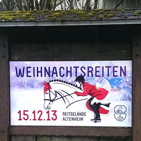 RC Altenheim | Ortsschild | Gestaltung & Druck