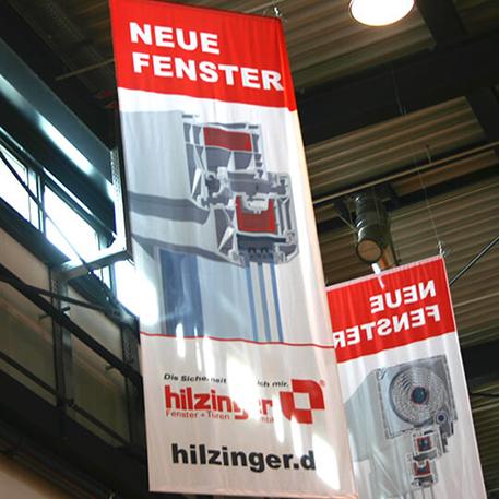 Hilzinger GmbH | Fahnen | Druck