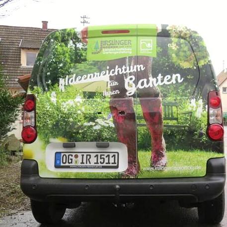 Irslinger GaLaBau | Gestaltung & KFZ-Beschriftung