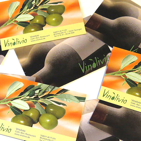 Vinolivio | Visitenkarten | Druck