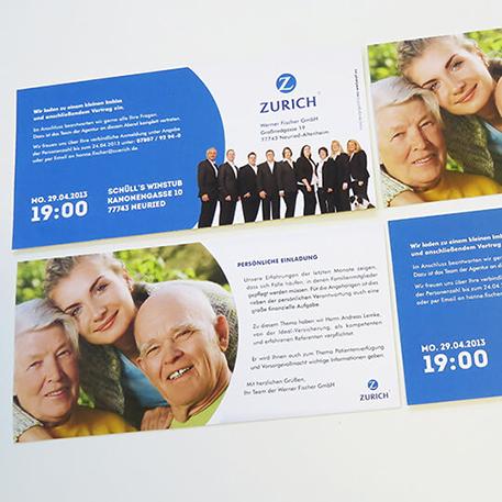 Werner Fischer GmbH | Flyer | Gestaltung & Druck